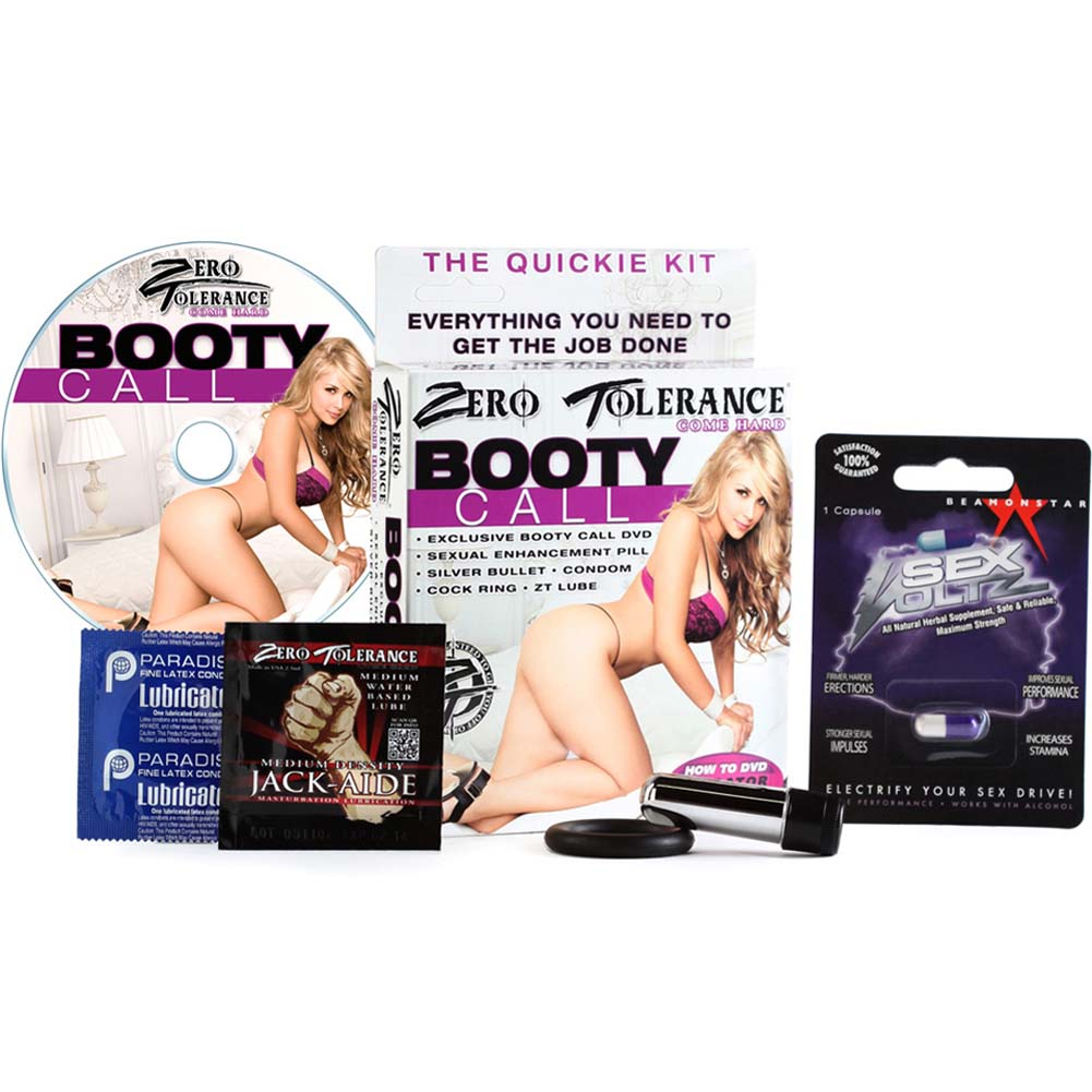 Zero Tolerance Booty Call Kit with Vibe Lube and DVD - View #2