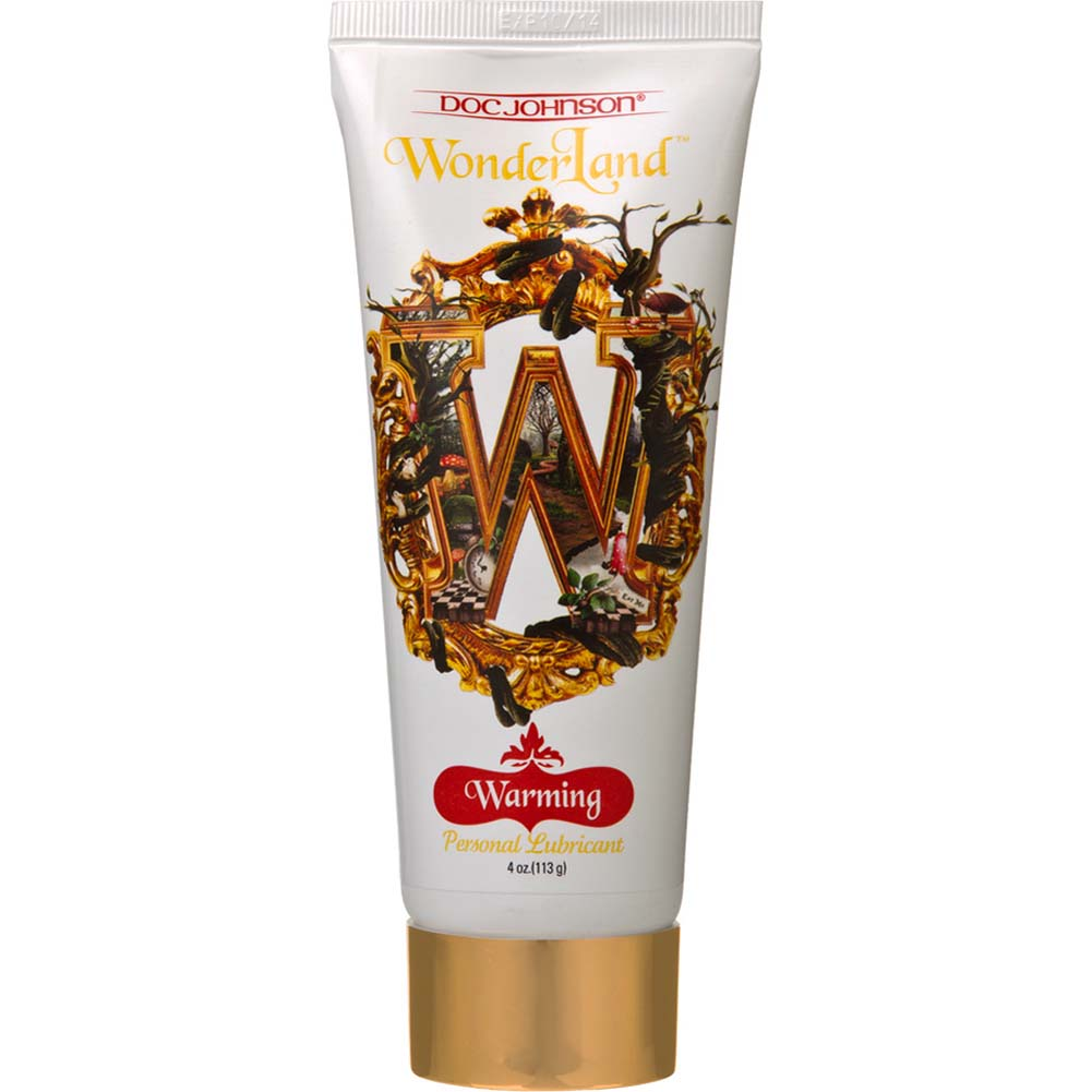 Wonderland Personal Lube Warming 4 Fl. Oz. - View #1