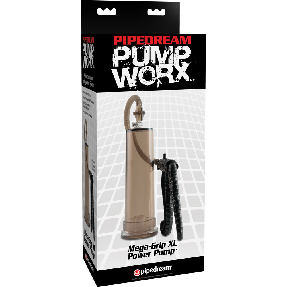 Pump Worx Mega Grip XL Power Pump Black - View #1