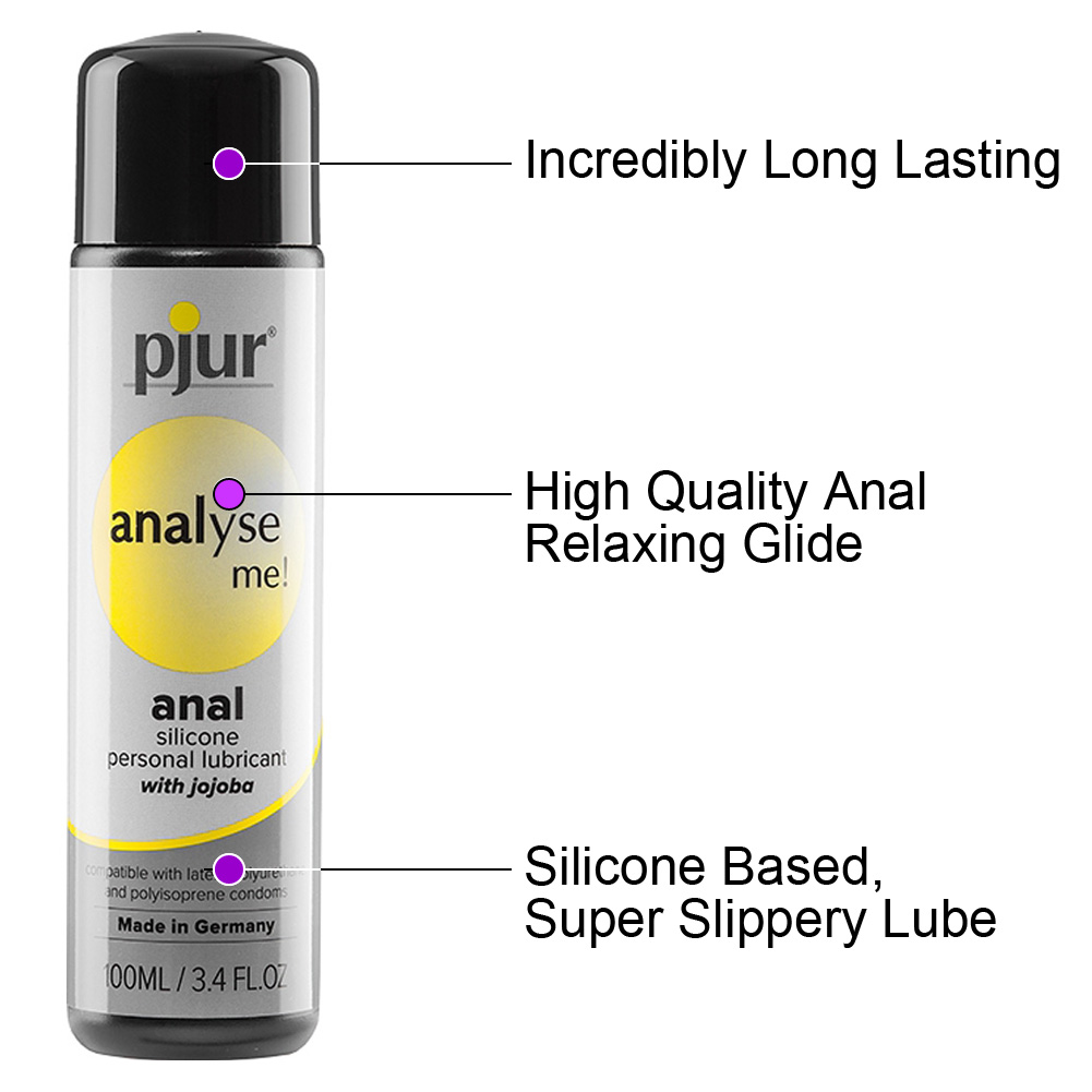 Pjur Analyse Me Relaxing Anal Glide Silicone Based Lube 3.4 Fl.Oz 100 mL - View #1