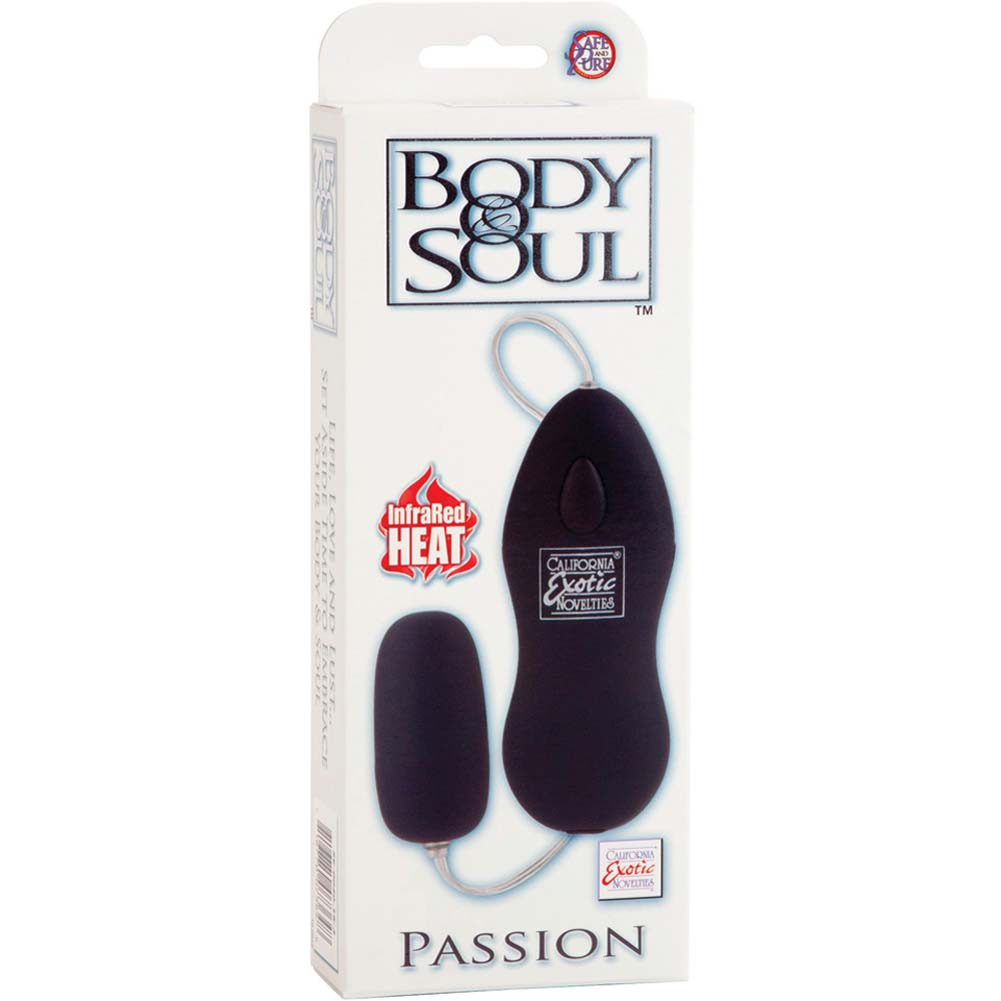 California Exotics Body and Soul Passion Vibrating Bullet Black - View #1