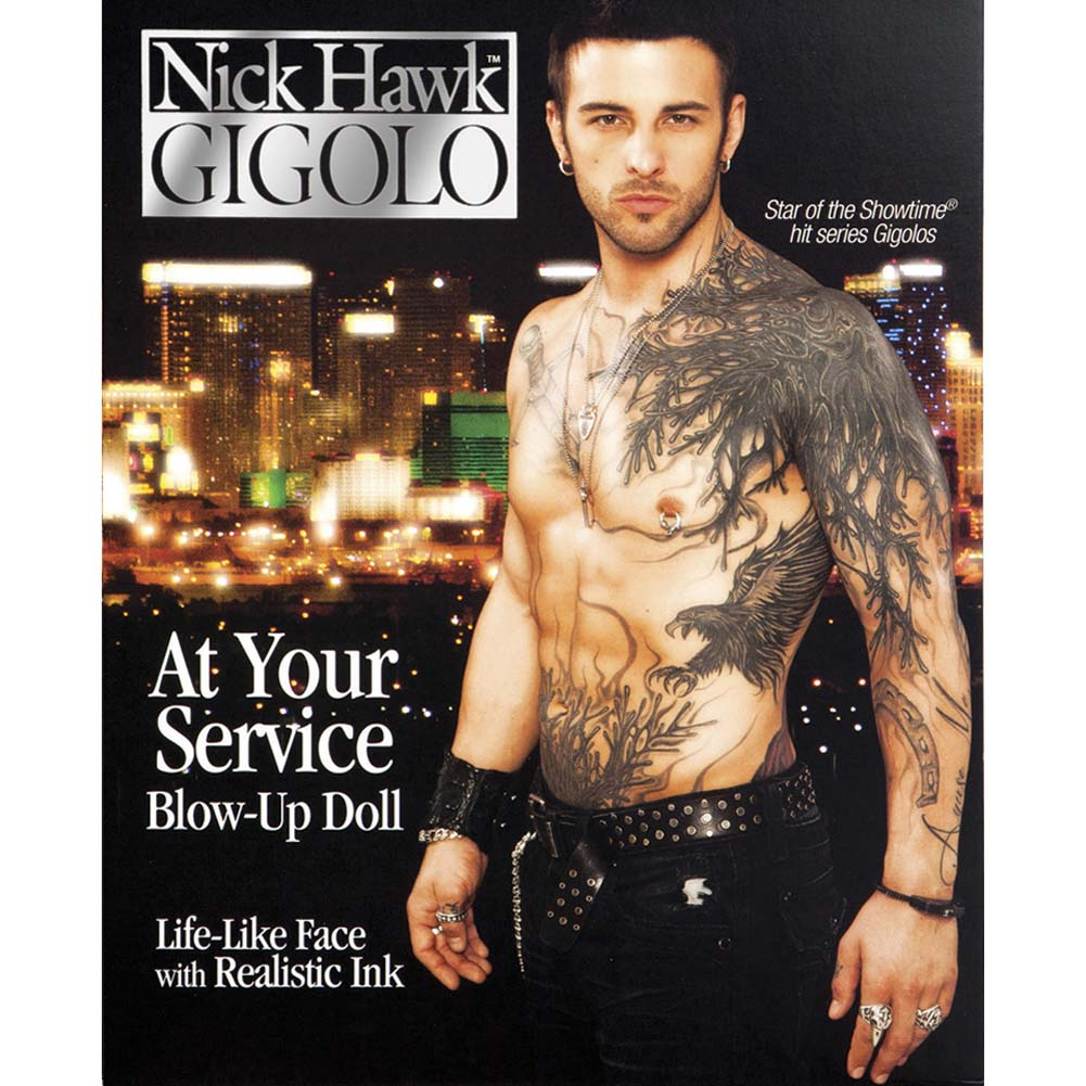 Nick Hawk Gigolo Blow Up Love Doll - View #2