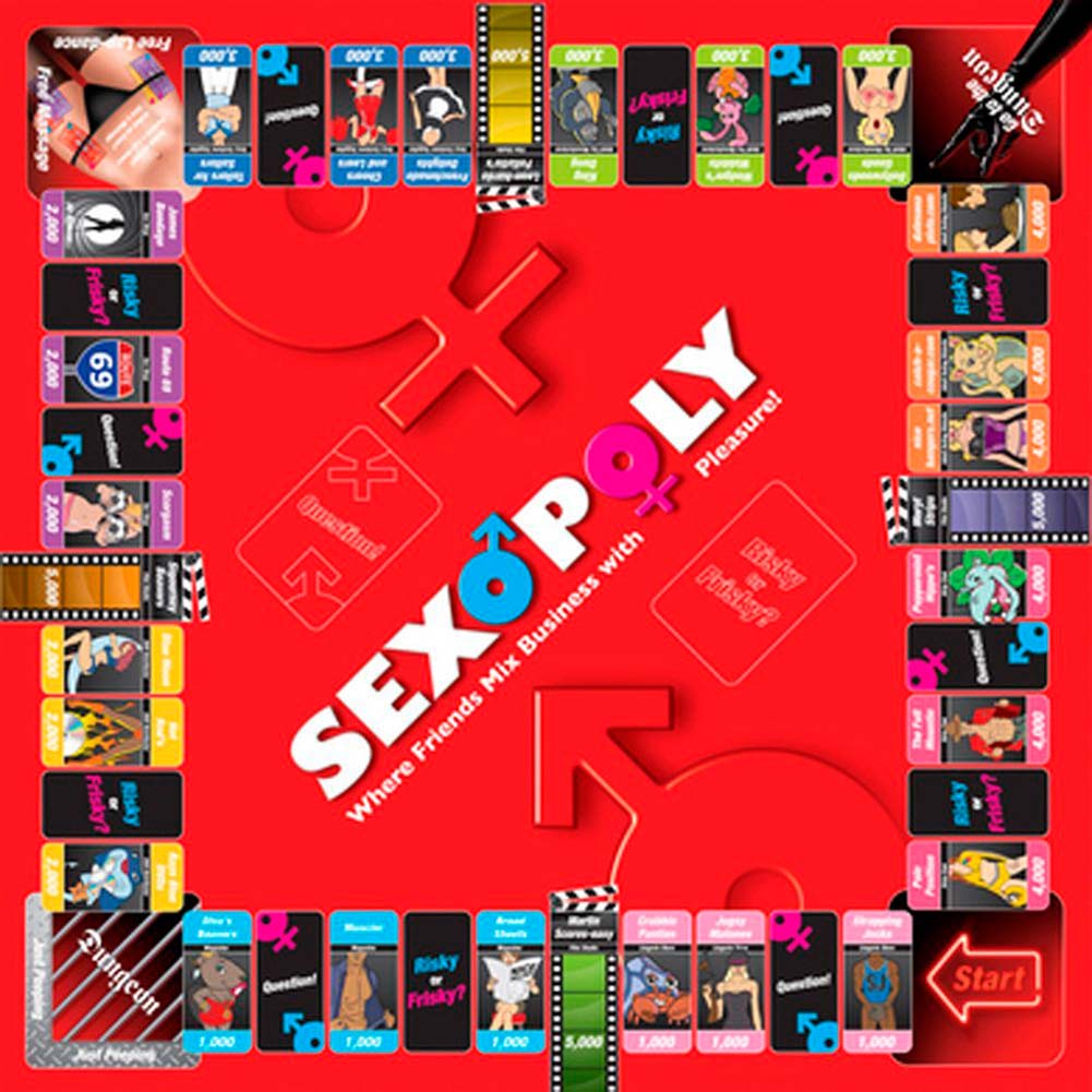 Sexopoly Adult Game for Couples. - View #1