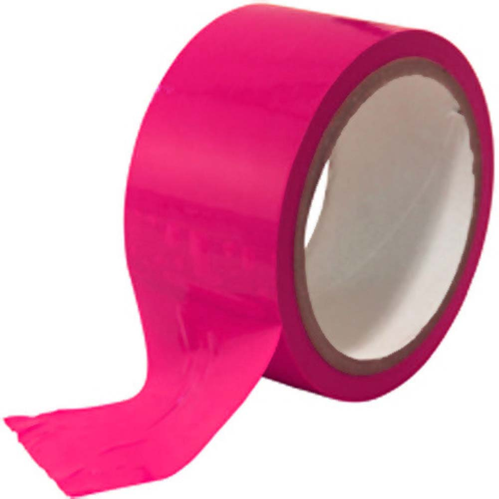 Sex Ties And Bondage Tape 20 Meters Hot Pink - View #1