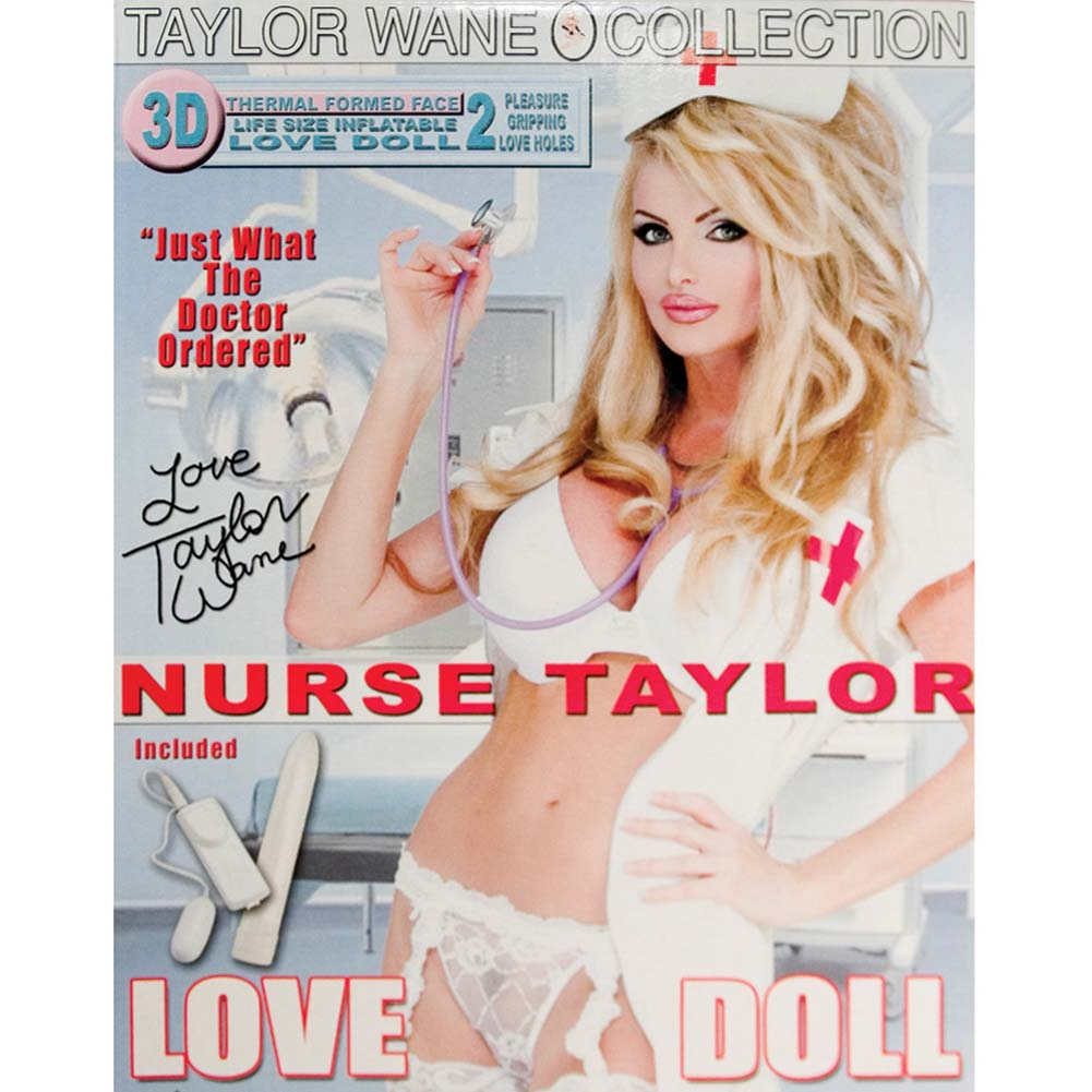 Nurse Taylor Vibrating Love Doll - View #1