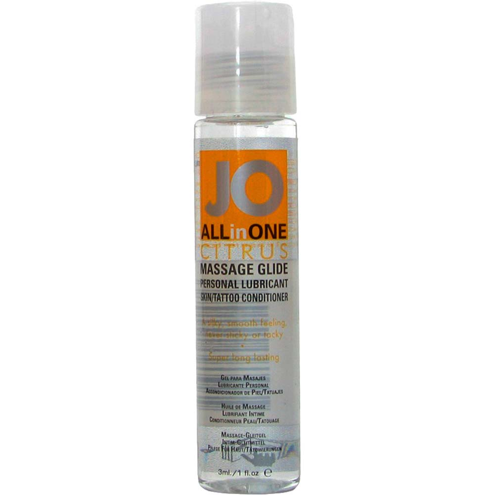 JO All in One Massage Glide Citrus 1 Fl. Oz. - View #1