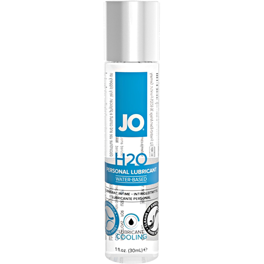 JO H2O Cooling Personal Water Based Lubricant 1 Fl. Oz. - View #1