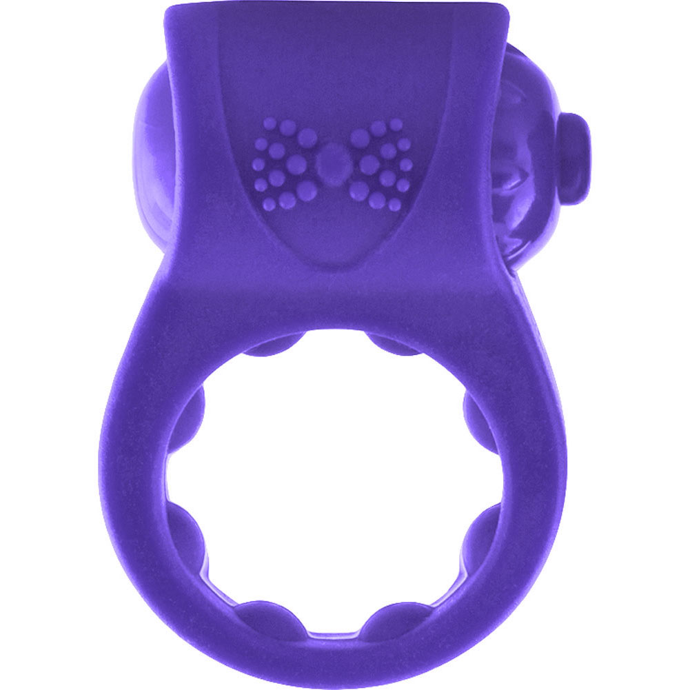Screaming O Primo Tux Love Ring One Size Purple - View #2