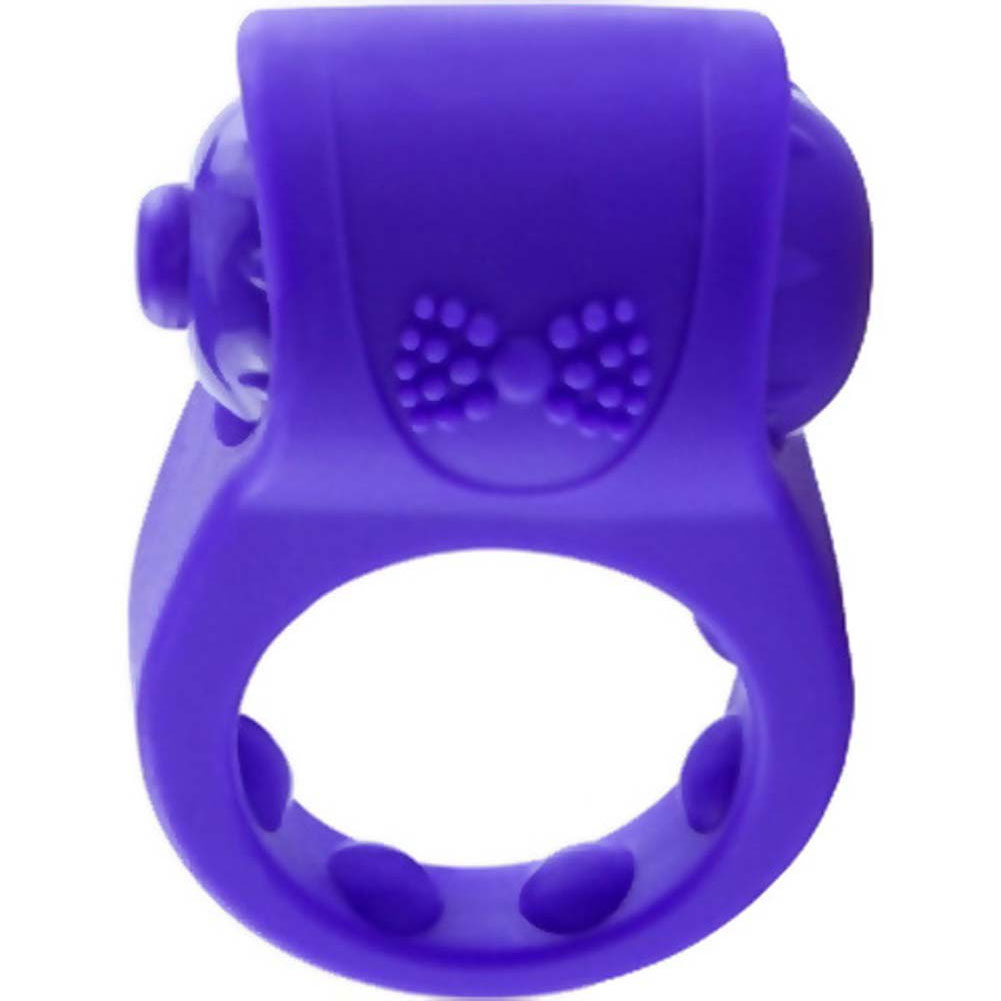 Screaming O Primo Tux Love Ring One Size Purple - View #4