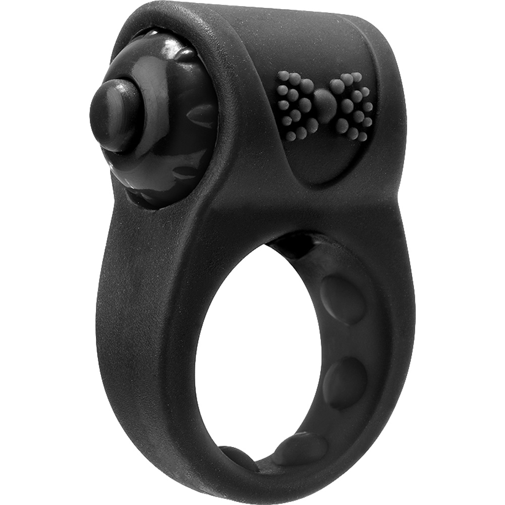 Screaming O Primo Tux Love Ring One Size Black - View #3
