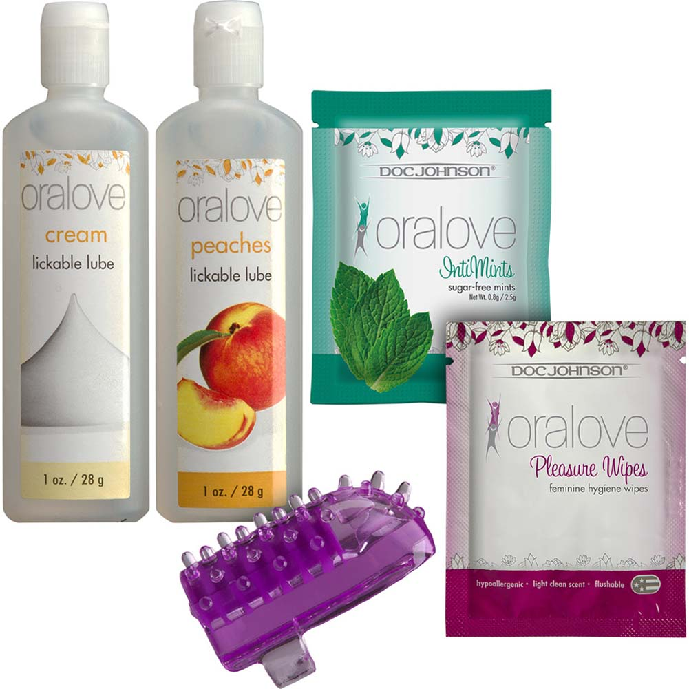 Oralove Kit for Her with Vibe and Lubricants - View #2