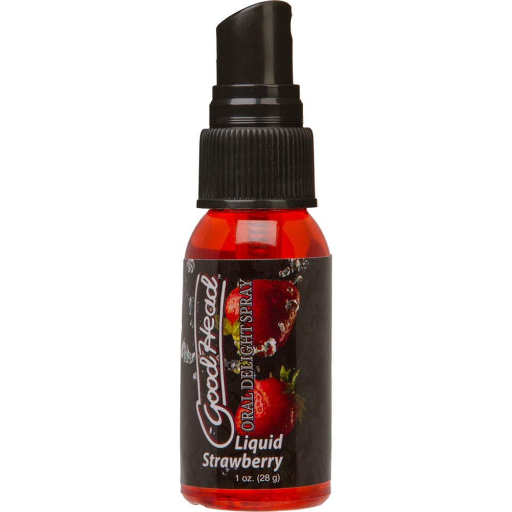 GoodHead Oral Delight Spray 1 Ounce 28 G Liquid Strawberry - View #2
