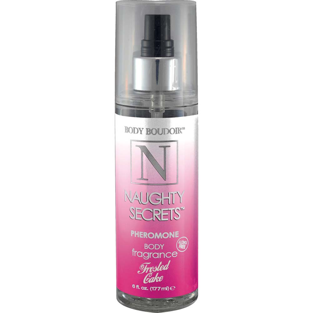 Naughty Secrets Body Mist With Pheromones Frosted Cake 6 Fl. Oz. - View #1