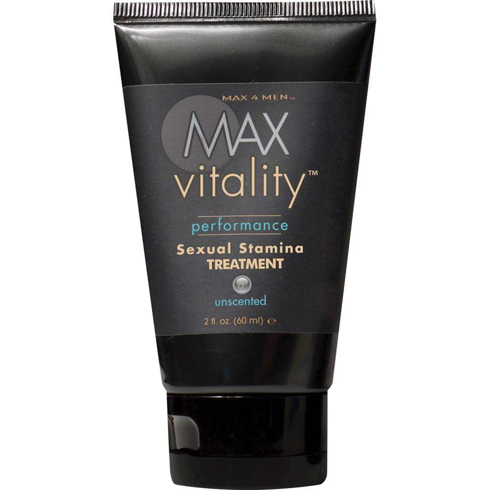 Max 4 Men Max Vitality Performance Sensual Stamina Treatment Gel 2 Fl. Oz. - View #1