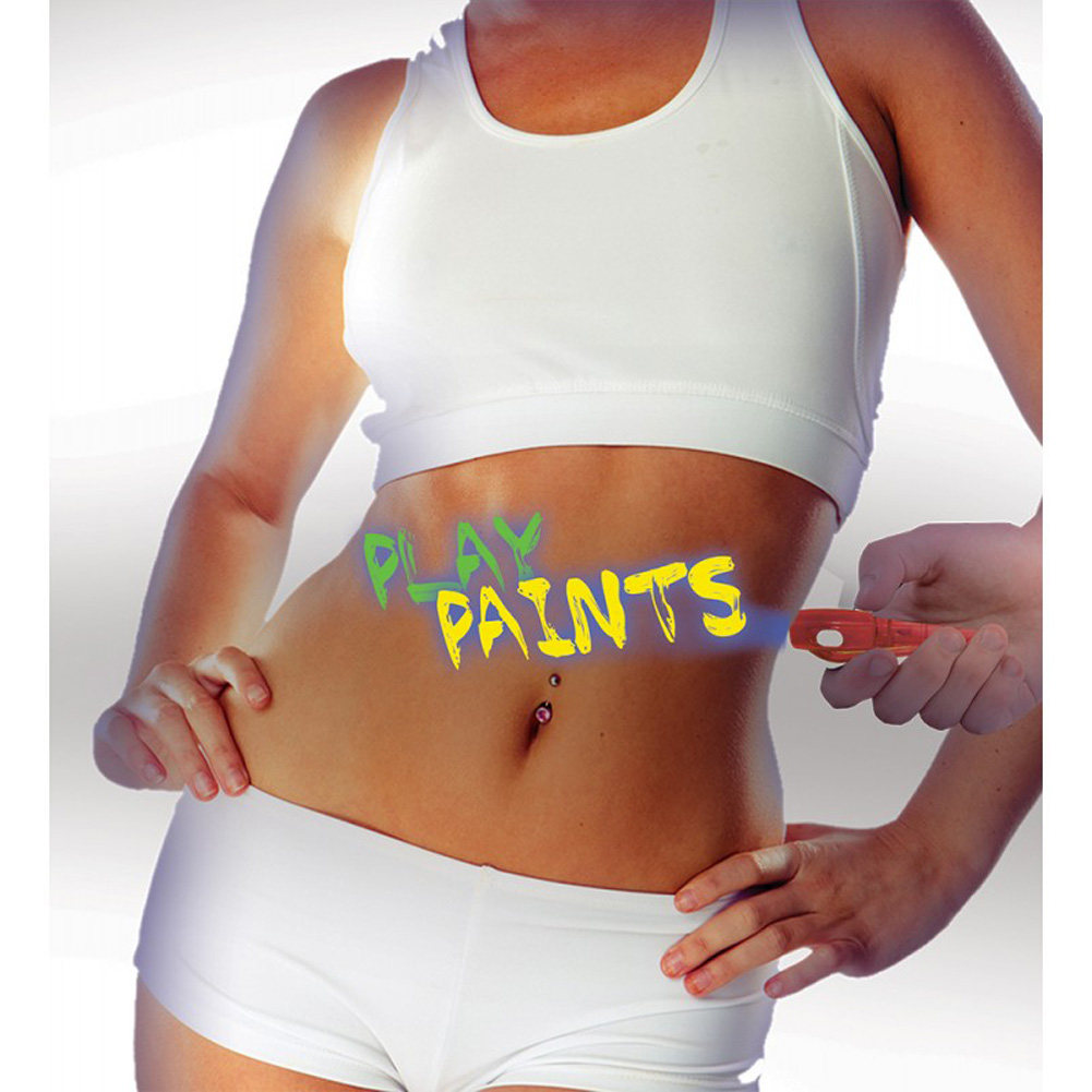 Neon Body Paint 3 Pack Card - View #3