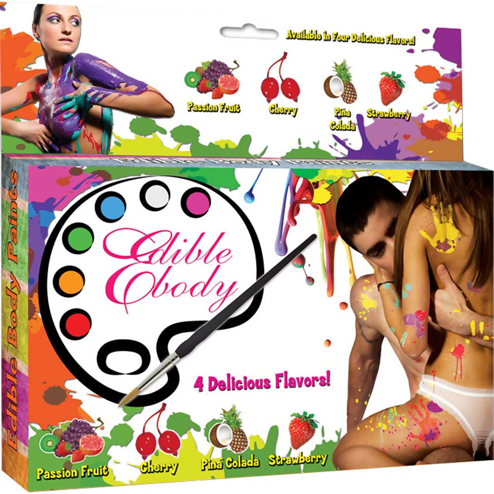 Edible Body Play Paints - View #1