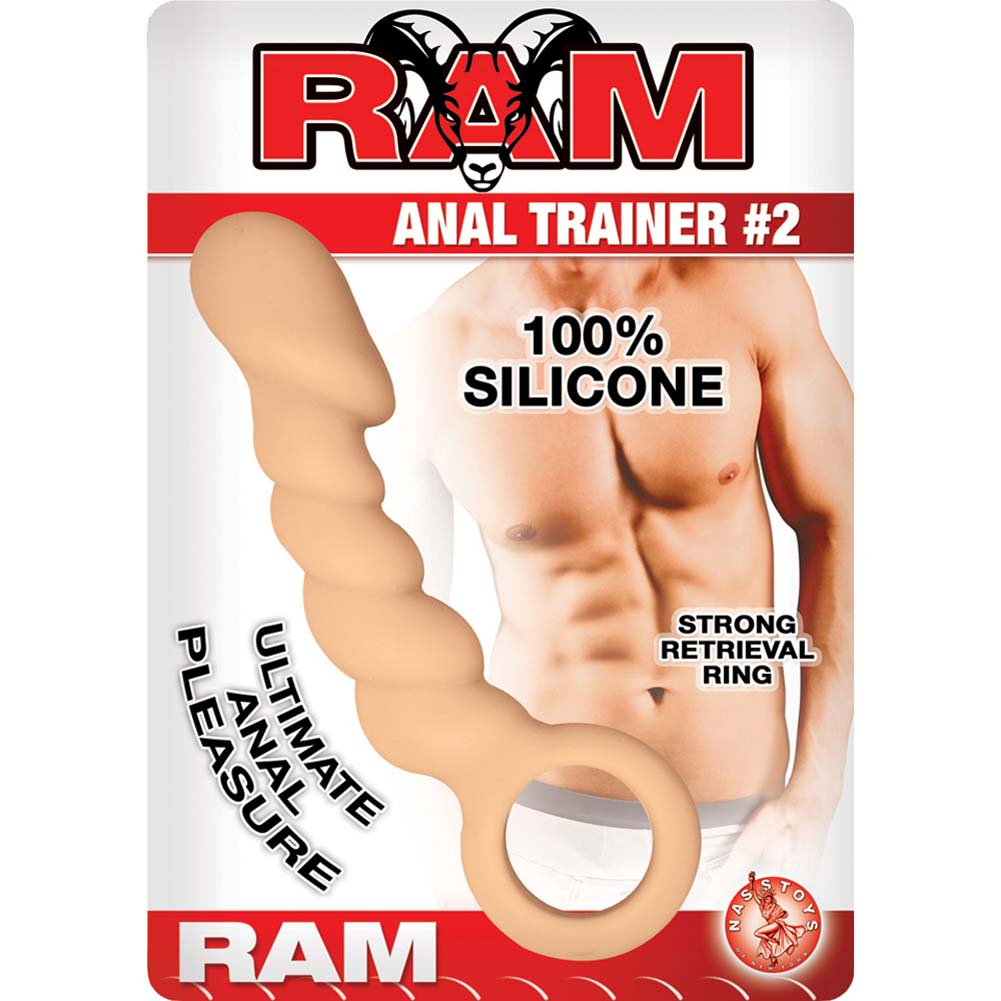 "Ram Anal Trainer 2 Anal Probe 5.5"" Flesh - View #1"