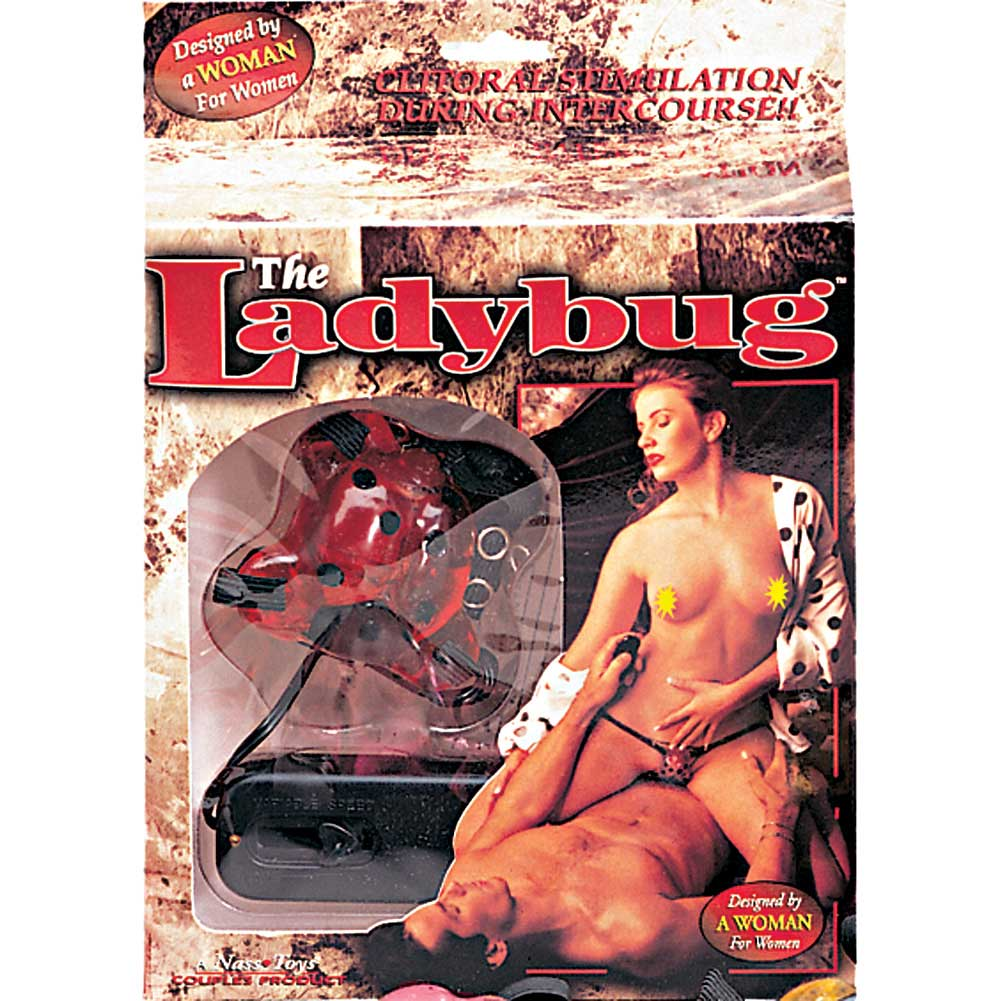 Lady Bug Vibrator Red - View #1