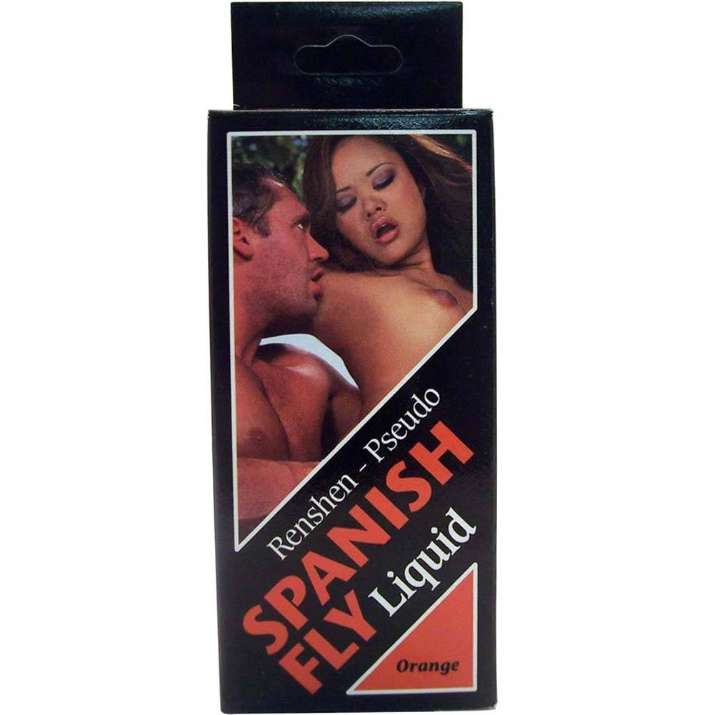 Spanish Fly Liquid 1 Fl.Oz 30 mL Orgy Orange Flavor - View #1