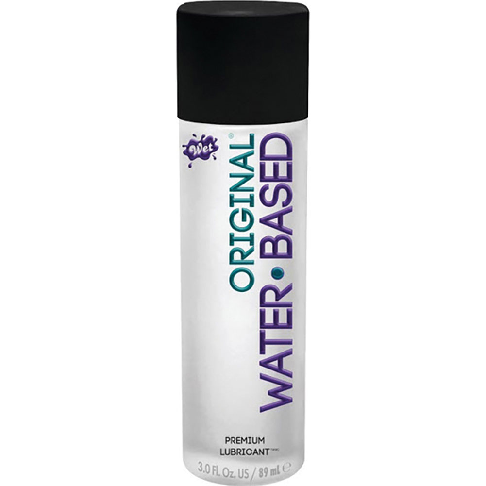 Wet Original Gel Water Based Personal Lubricant 3.5 Fl.Oz 100 mL - View #2
