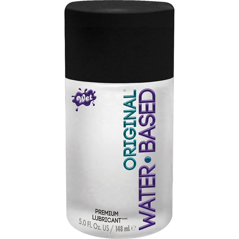 Wet Original Gel Water Based Personal Lubricant 5 Oz. - View #2