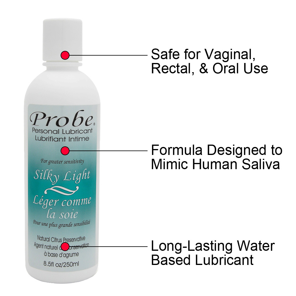 Probe Silky Light Personal Lubricant 8.5 Fl.Oz 250 mL - View #1