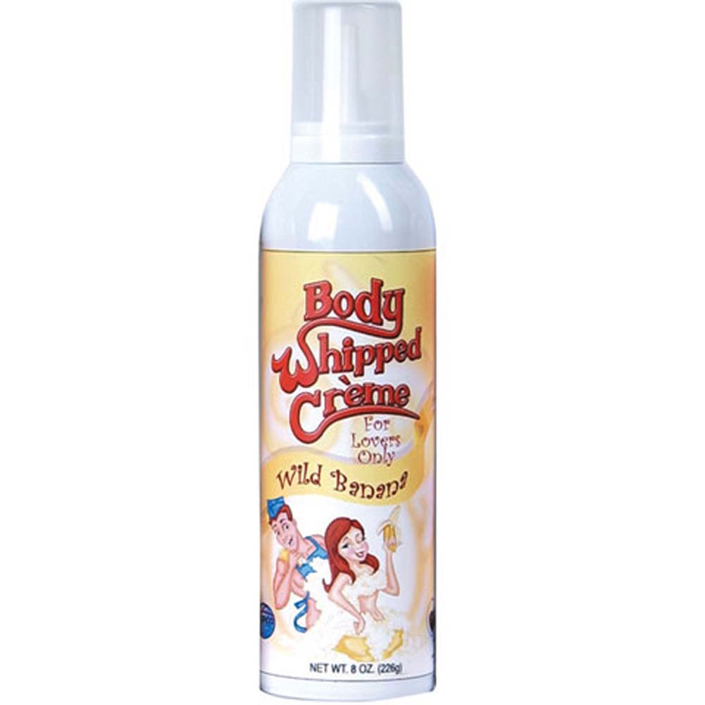 Body Whipped Cream Wild Banana Can 8 Oz. - View #1
