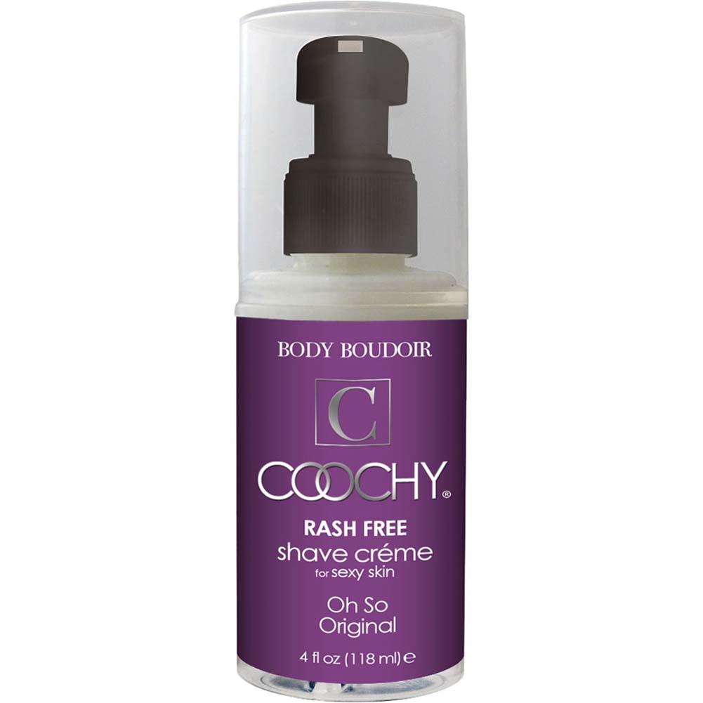 Coochy Rash Free Shave Creme Oh So Original 4 Fl. Oz. - View #1