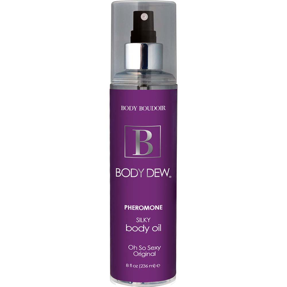 Body Dew Pheromone Silky Body Oil 8 Fl.Oz 237 mL Oh So Sexy Original - View #1