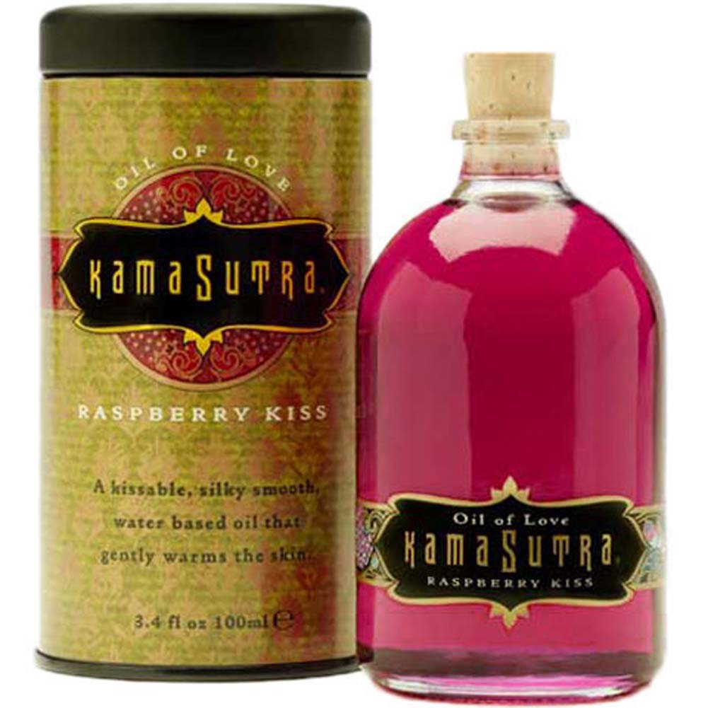 Kama Sutra Oil of Love Raspberry Kiss 3.4 Fl. Oz. - View #2