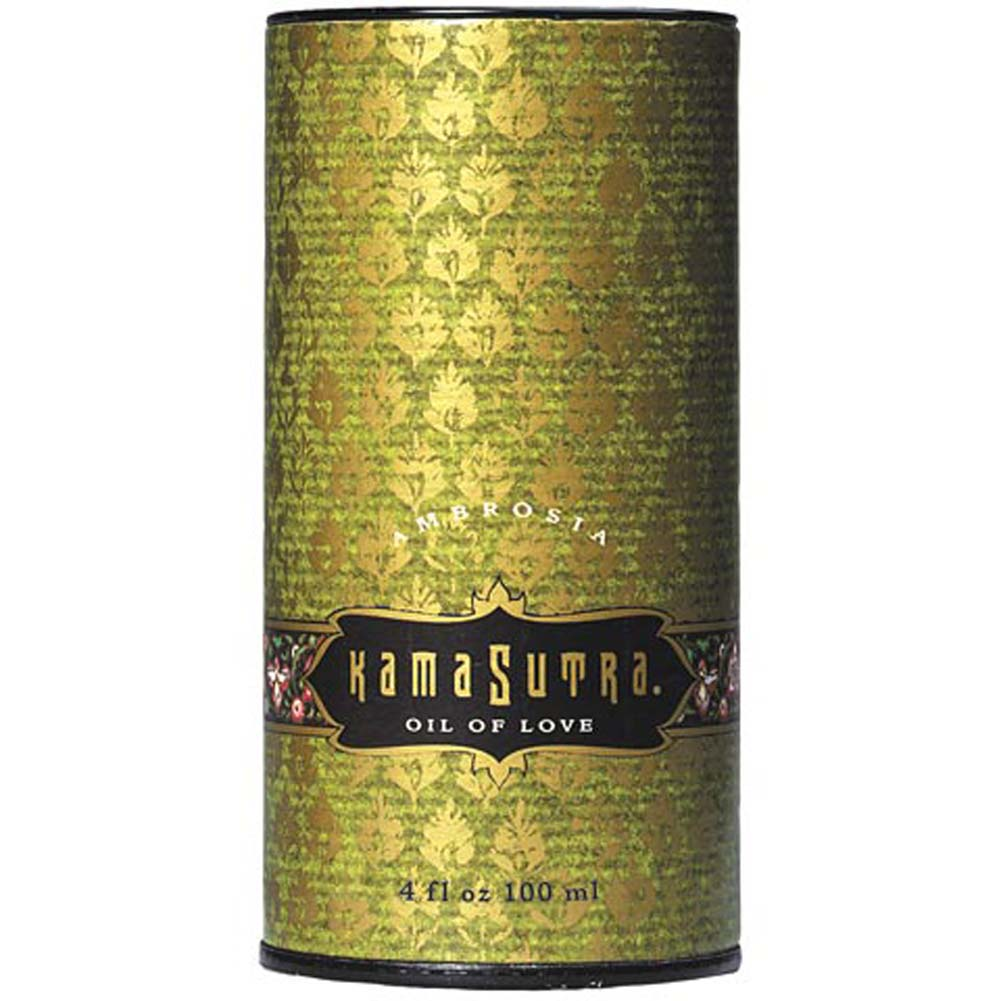 Kama Sutra Oil of Love Ambrosia 4 Oz. - View #1
