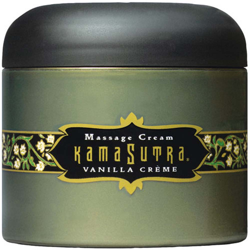 Kama Sutra Massage Cream Vanilla Creme 7 Oz. - View #2