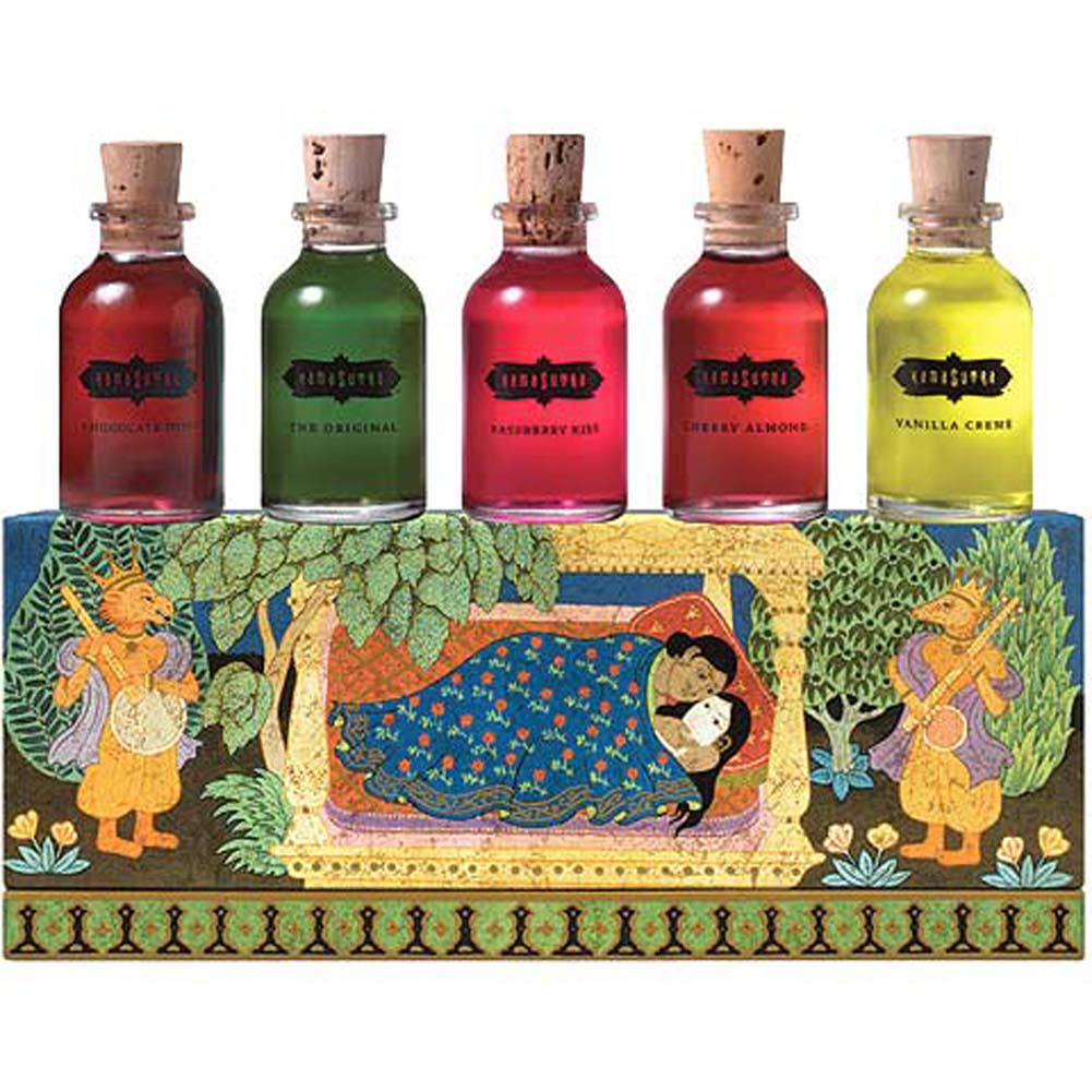 Kama Sutra Oil Collection Set 5 Samplers .75 Fl. Oz. Each - View #1