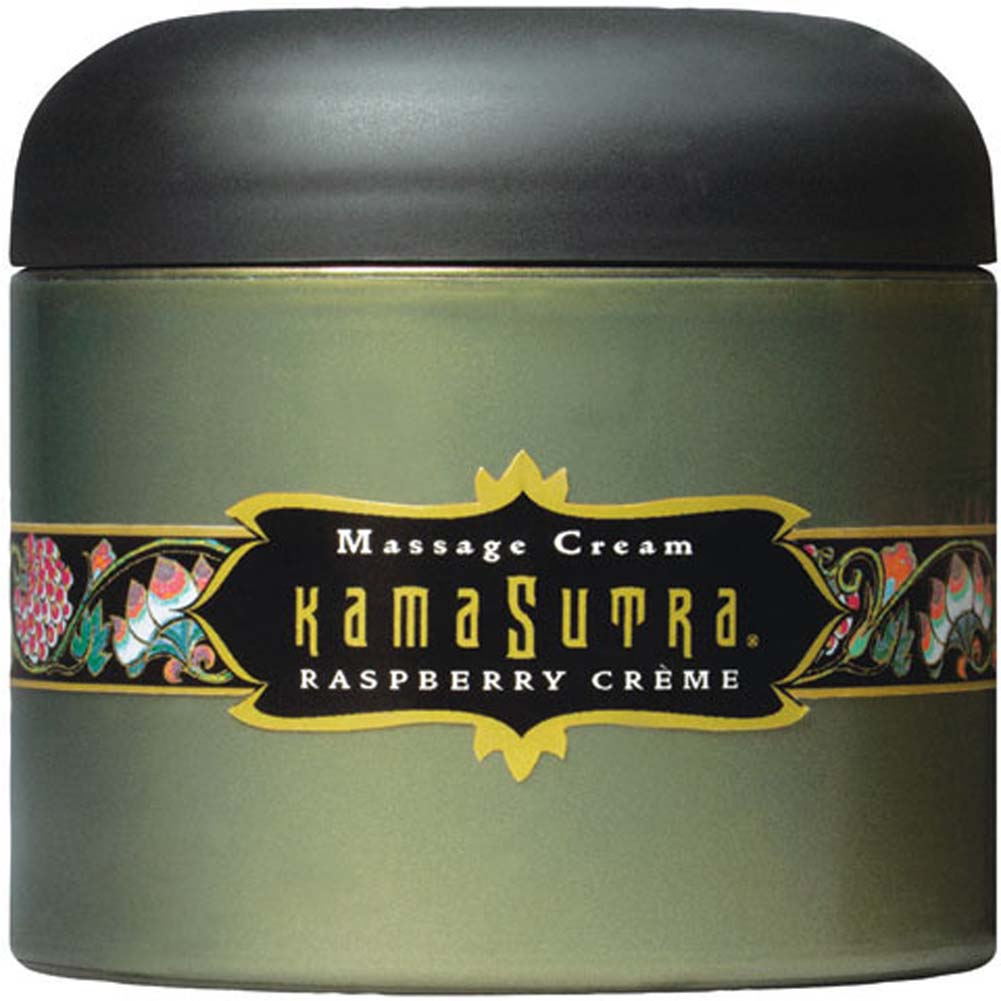 Kama Sutra Massage Cream Raspberry Cream 7 Oz. - View #2