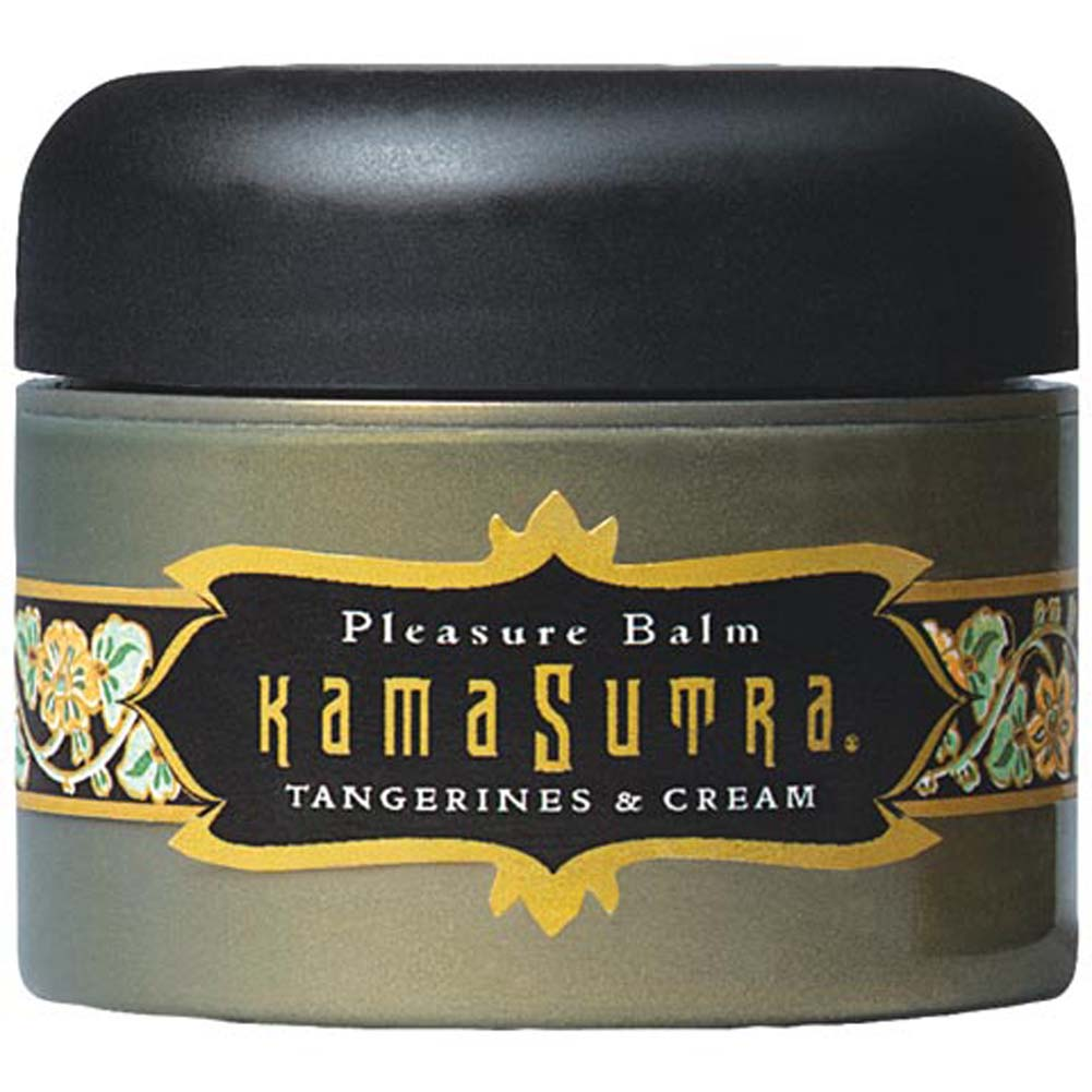 Kama Sutra Pleasure Balm Tangerines and Cream 1 Fl. Oz. - View #2