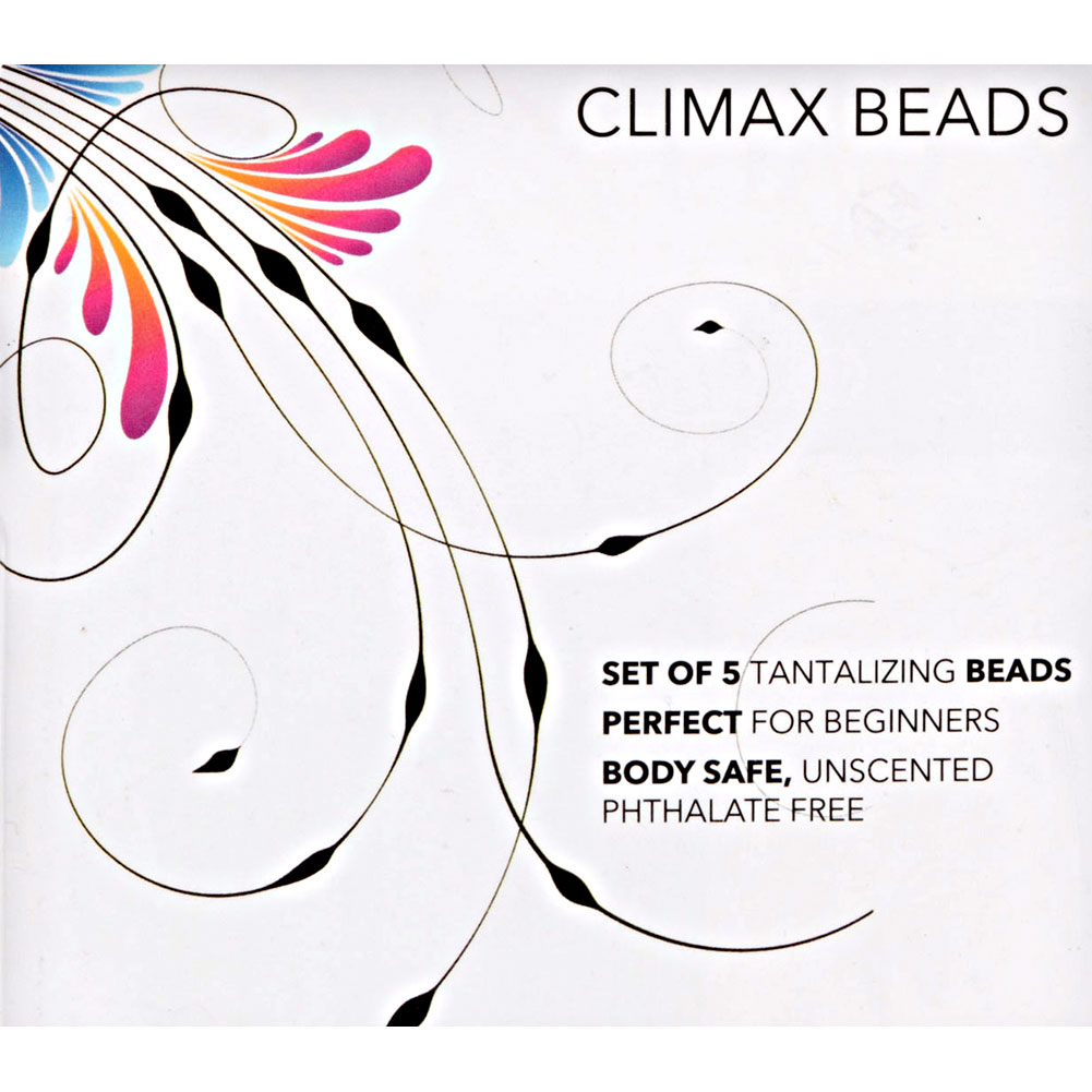 CalExotics Climax Beads Large Assorted Colors - View #1