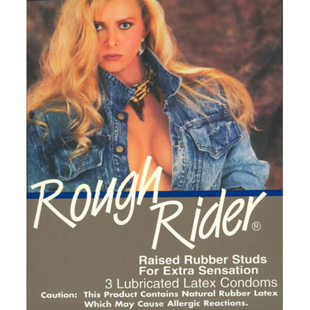 Rough Rider Condoms 3pk - View #1
