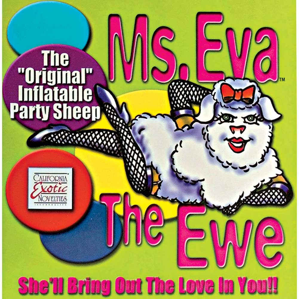 Eva the Ewe Inflatable Party Sheep Love Doll by CalExotics - View #1