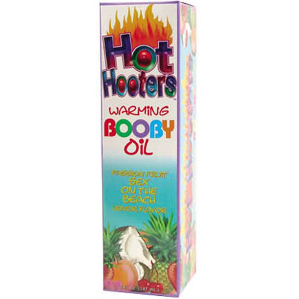 Hot Hooters Warming Booby Oil Passion Fruit 5 Fl. Oz. - View #2