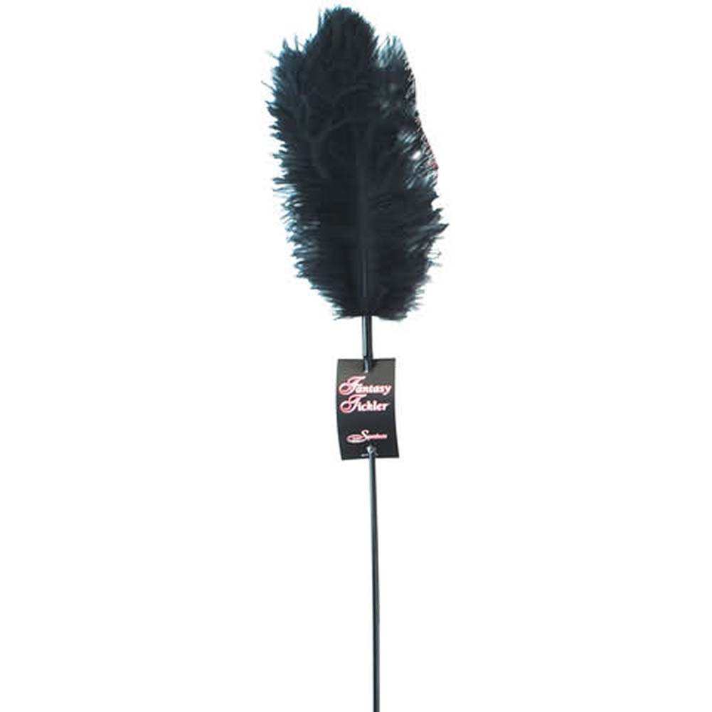 Ostrich Feather Tickler Assorted Colors - View #1