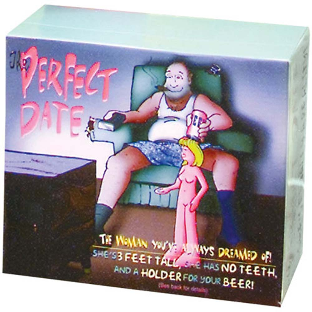 Perfect Date Inflatable Doll with a Beer Holder - View #1
