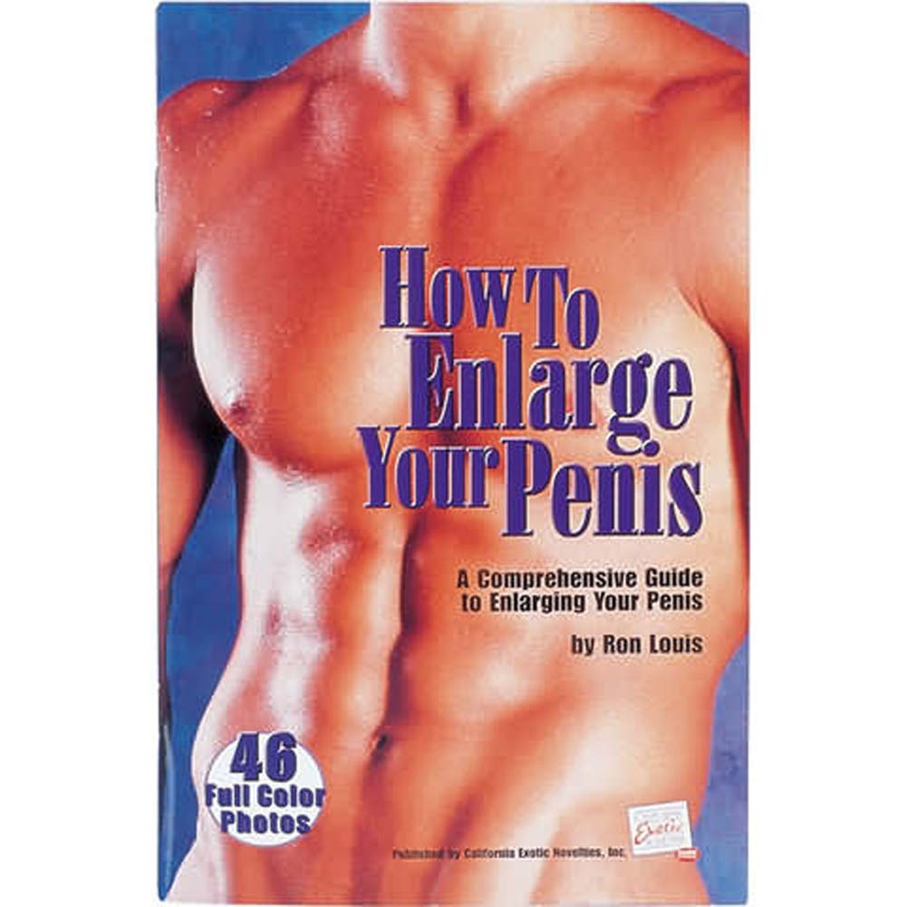 California Exotics How To Enlarge Your Penis Book - View #1