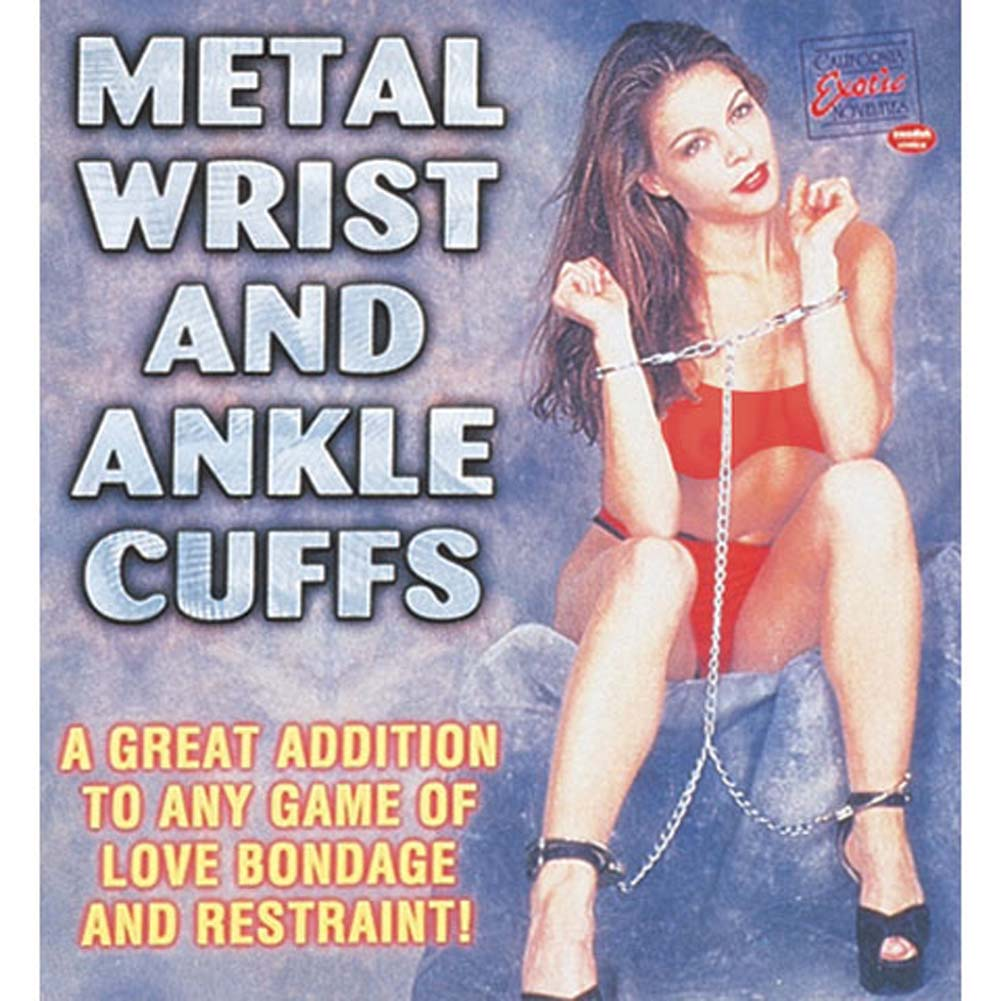 Metal Wrist and Ankle Cuffs - View #1