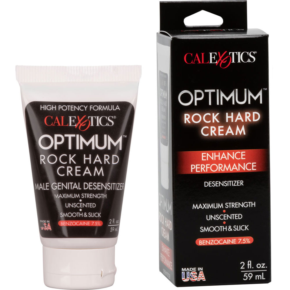 California Exotics Julians Rock Hard Cream for Men 1.5 Fl. Oz. - View #2