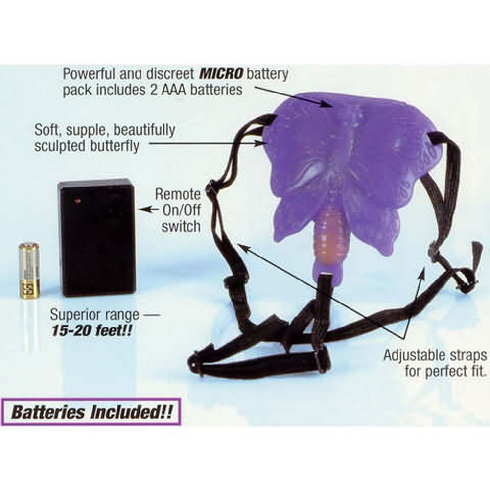 Remote Control Butterfly with Adjustable Straps - View #3