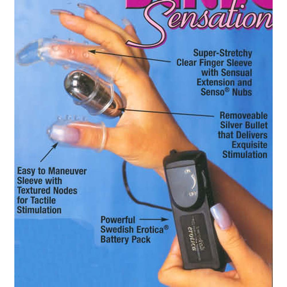Senso Sensations Finger Vibrating Stimulator - View #2