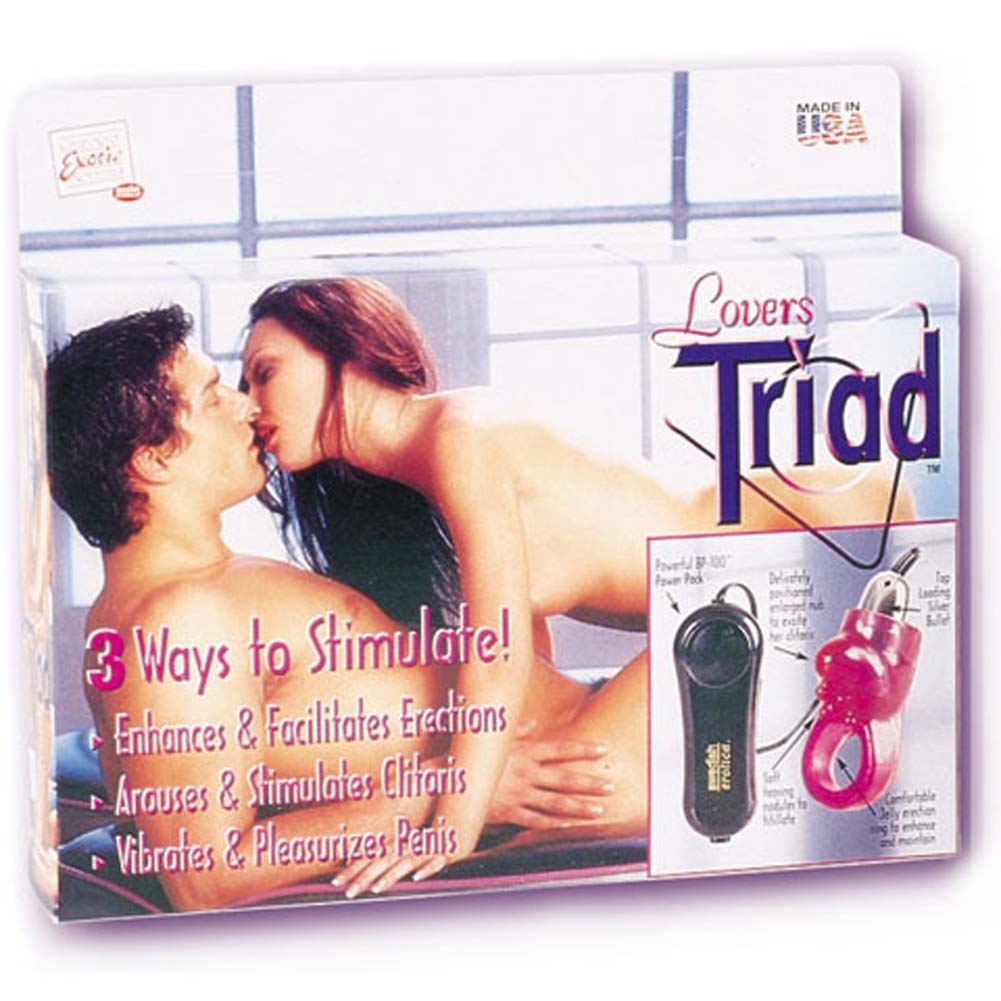 Lovers Triad Erection Enhancer - View #1