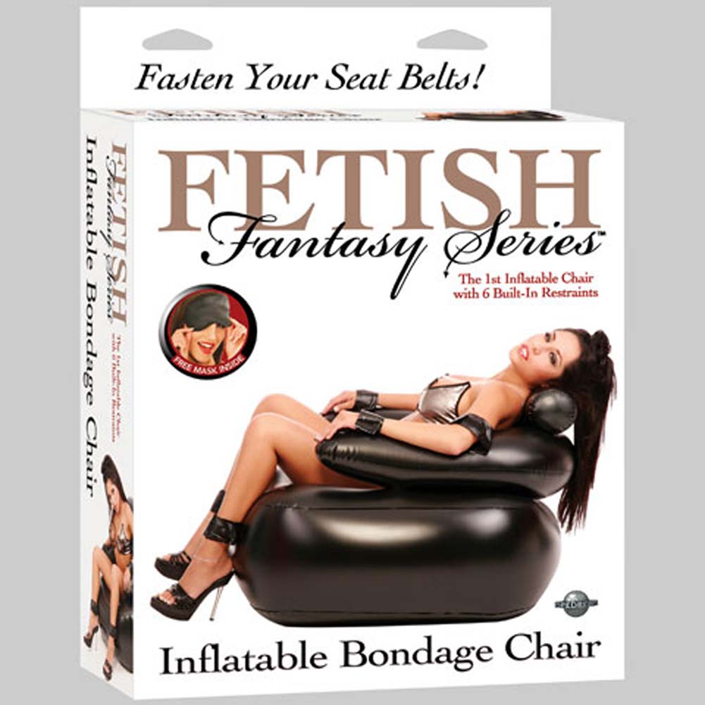 Fetish Fantasy Series Inflatable Bondage Chair - View #1