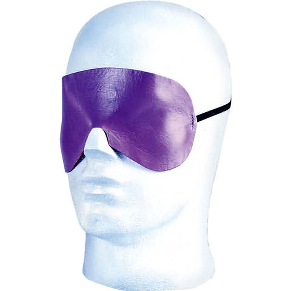 Lavender Leather Pleasure Mask - View #2