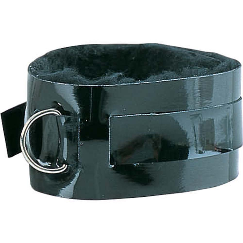 Neck Collar Patent Leather Passion Restraints - View #2